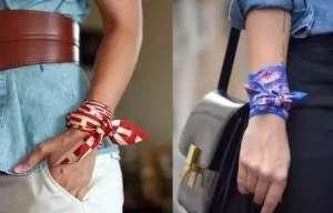 一条丝巾让你提升优雅时髦度